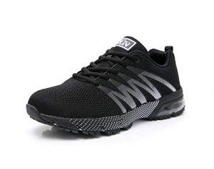 AZOOKEN Herren Damen Sportschuhe Laufschuhe Turnschuhe Sneakers Leichte Fitness Mesh Air Sneaker Straßenlaufschuhe Outdoor 36-47