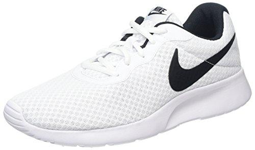 Nike Damen Wmns Tanjun Gymnastikschuhe, Schwarz (White/Black 100), 39 EU