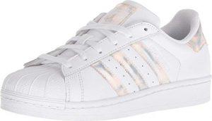 Adidas ORIGINALS Unisex-Kinder Superstar Sneaker, Weiß/Weiß, 34 EU