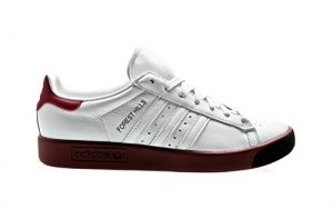 adidas Originals Forest Hills, Footwear White-Footwear White-Collegiate Burgundy, 13,5