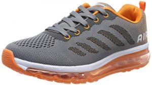 frysen Herren Damen Sportschuhe Laufschuhe mit Luftpolster Turnschuhe Profilsohle Sneakers Leichte Schuhe