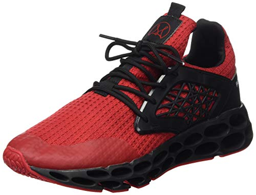Wonesion Herren Fitness Laufschuhe Atmungsaktiv Rutschfeste Mode Sneaker Sportschuhe, ,