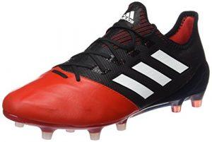 adidas Herren Ace 17.1 Leather Fg Futsalschuhe, rot/schwarz (core Black/FTWR White/red)