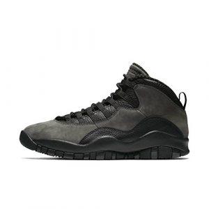 Nike Herren Air Jordan 10 Retro Dunkelgrau Leder/Synthetik/Textil Sneaker
