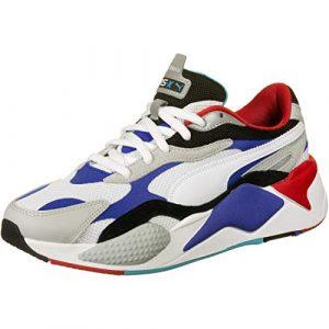 PUMA Sneaker Low Rs-X3 Puzzle Weiss Herren