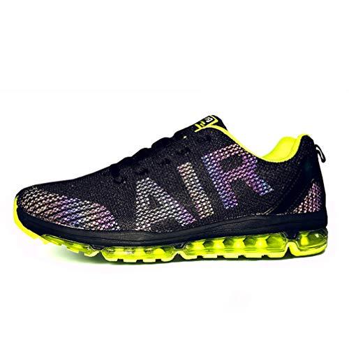 Axcone Damen Herren Sneaker Laufschuhe Air Sportschuhe Turnschuhe Running Fitness Sneaker Outdoors Straßenlaufschuhe Sports - Viele Farben 35EU-45EU