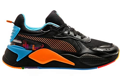 PUMA RS-X X Tetris, Black-Luminous Blue